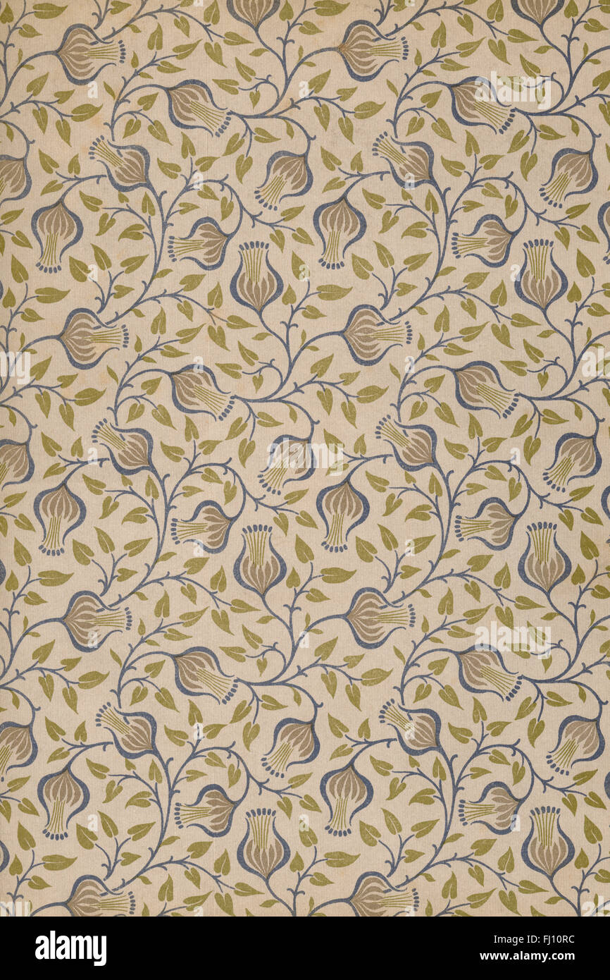 Floral paper Stock Photo
