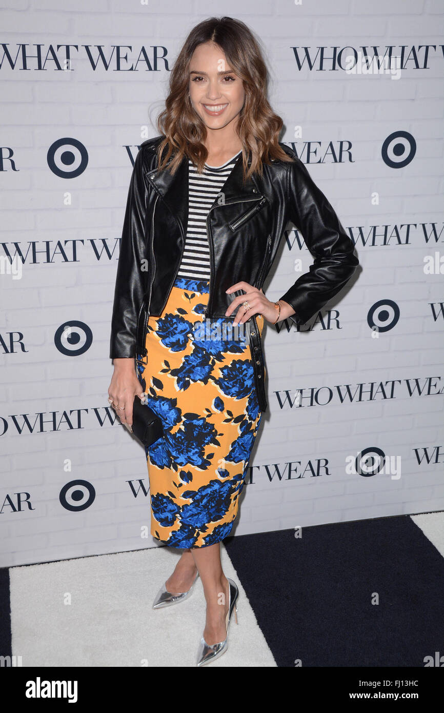 47a7695e06 Who What Wear And Target Launch Party - Red Carpet Arrivals Featuring: Jessica  Alba Where: New York, New York, United States When: 27 Jan 2016