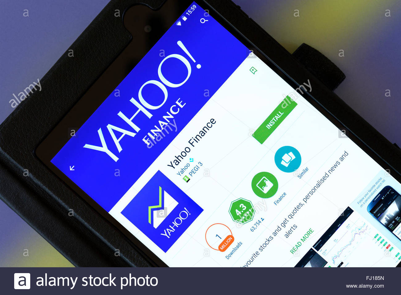 Yahoo Finance Stock Photos & Yahoo Finance Stock Images - Alamy
