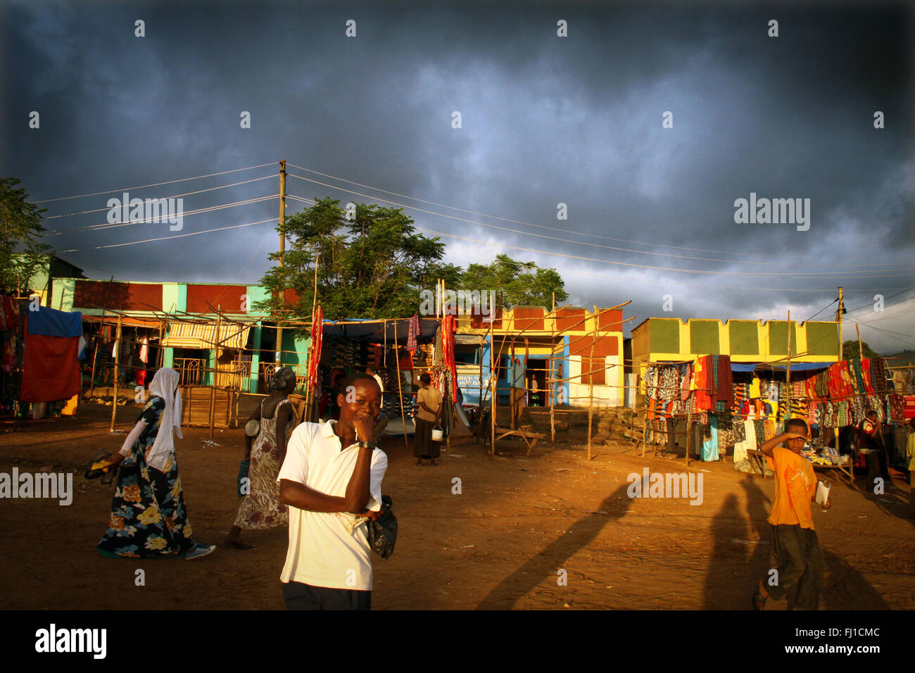 Ethiopia Omo valley - Stock Image