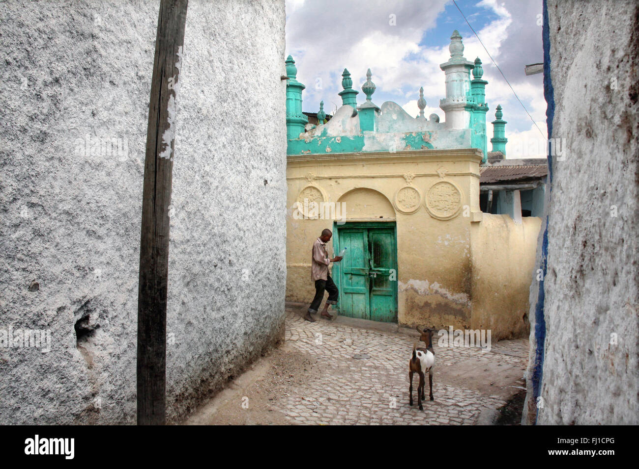 Mosque In The Old Town, Harar, Ethiopia - Stock Image