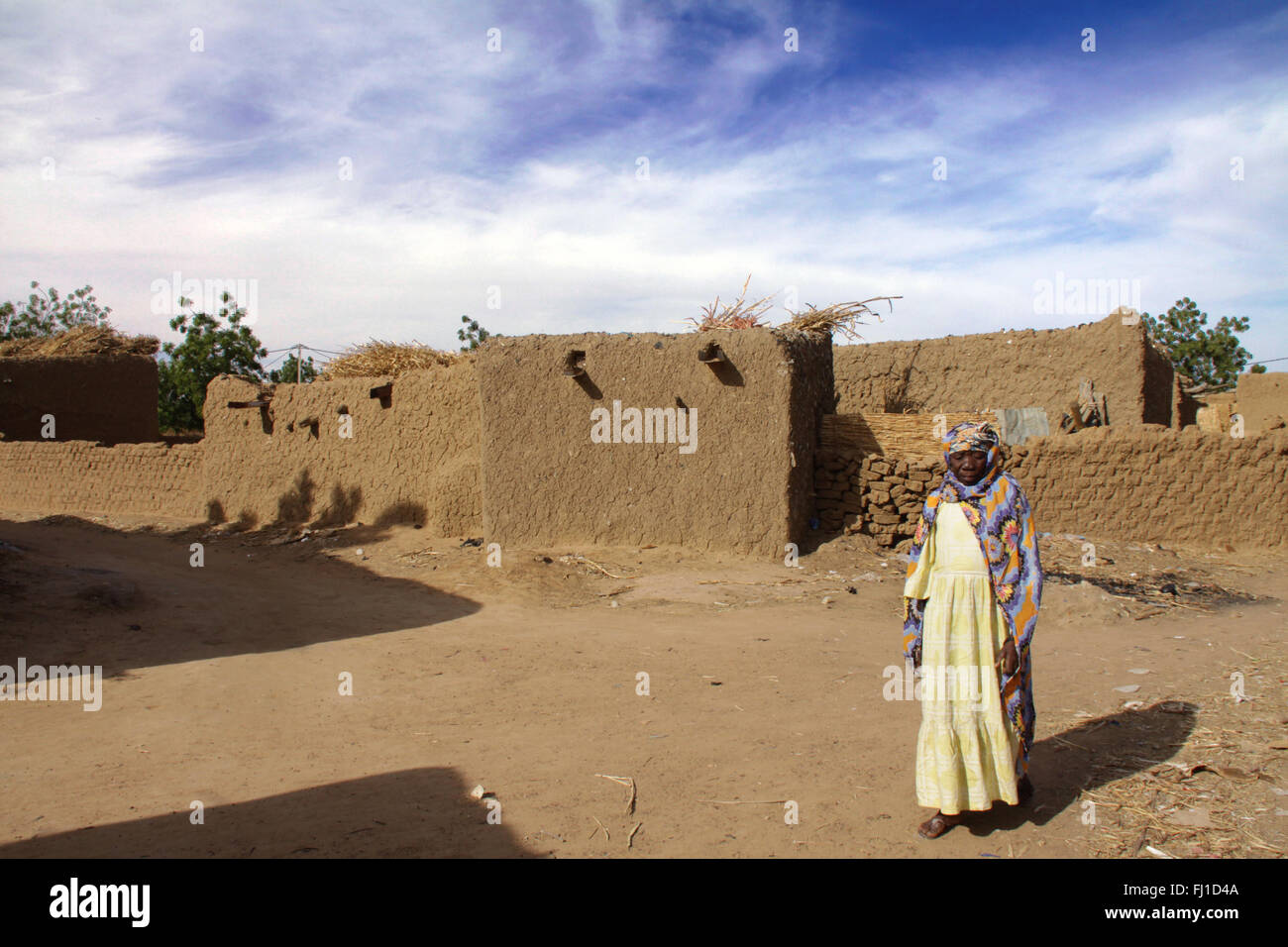 Burkina Faso people and places - Stock Image