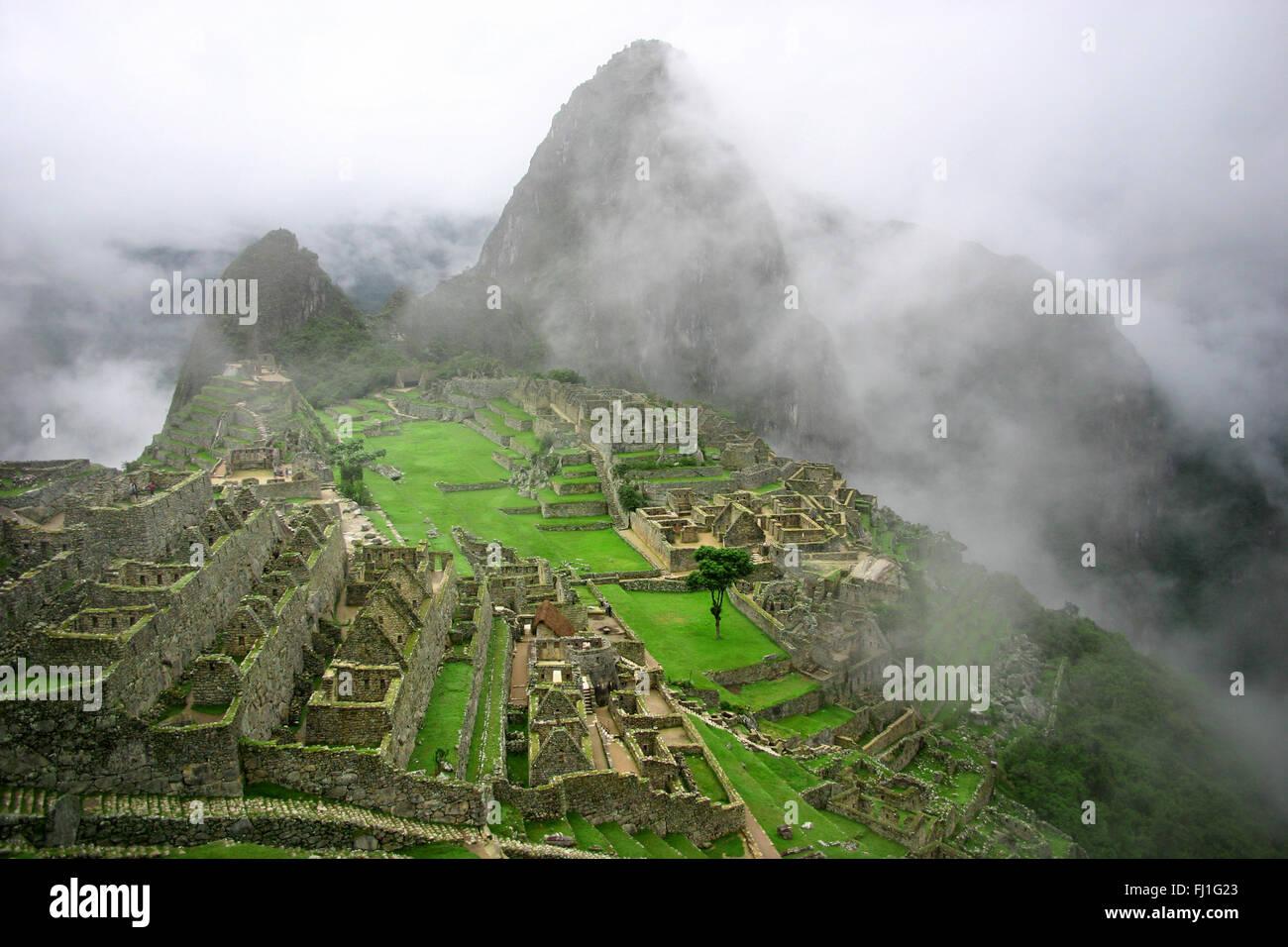 Macchu Picchu - Peru - Stock Image