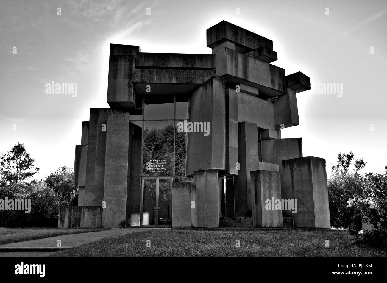 Wotruba Church - Stock Image