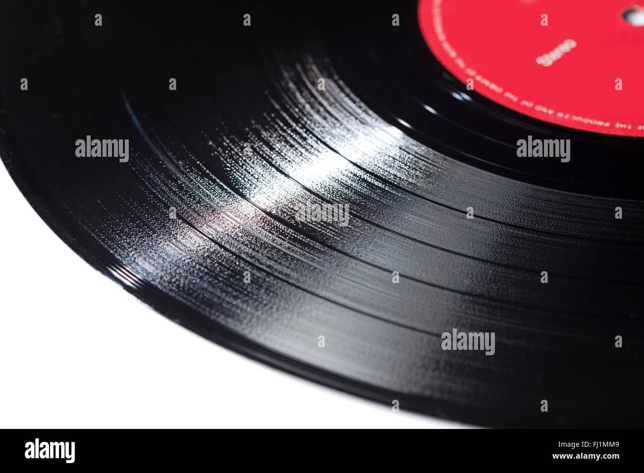 Vinyl record - Stock Image