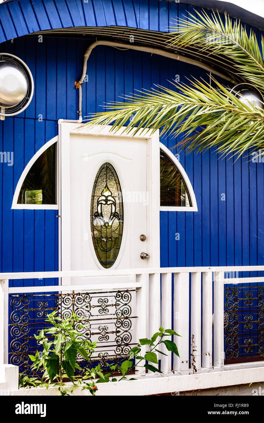 Architectural Details, West Coast Village, Jolly Harbour, Antigua - Stock Image