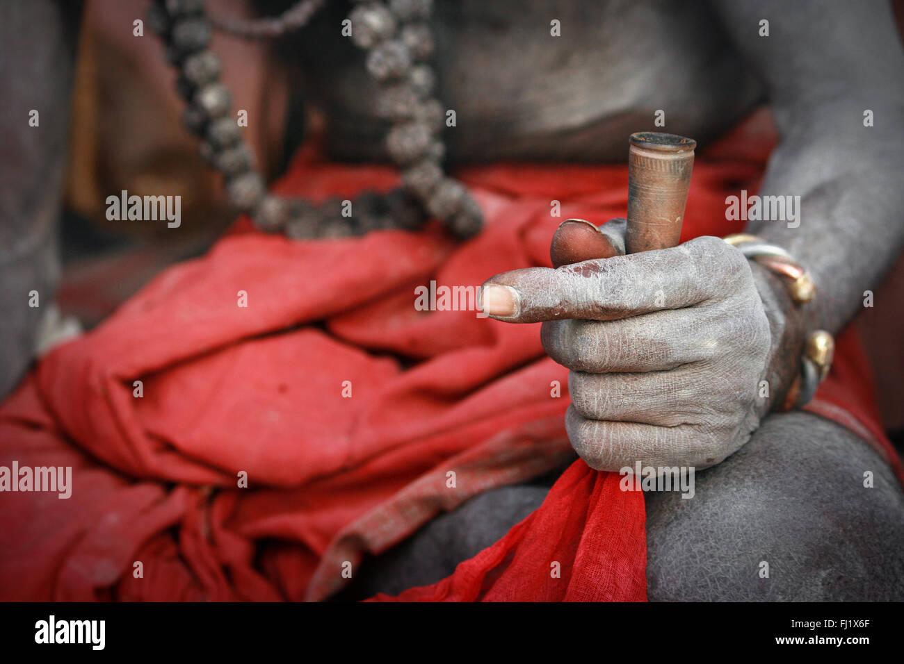 Smoking Chillum Stock Photos Smoking Chillum Stock Images Alamy