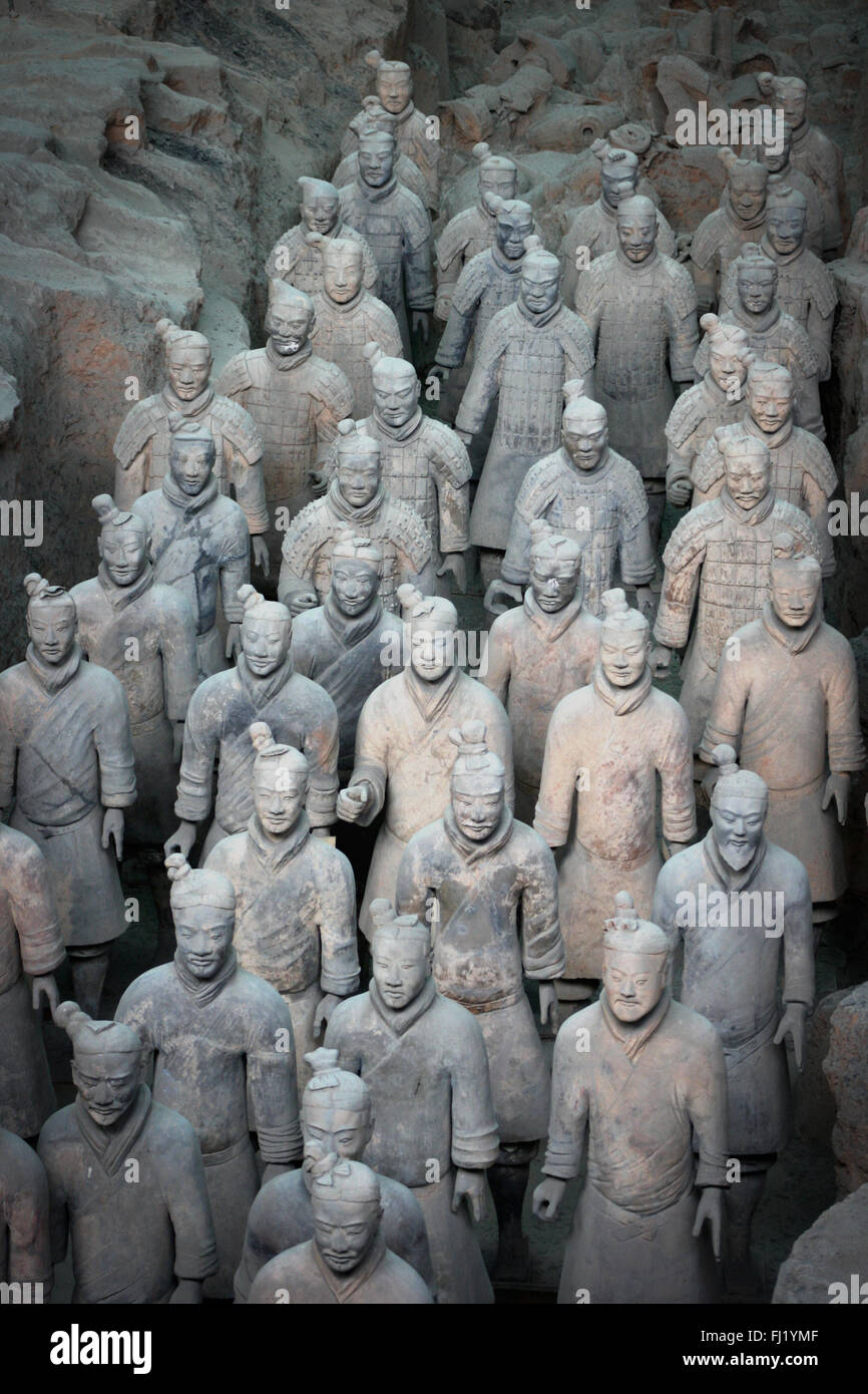 Xi'An Terracotta Army , China - Stock Image