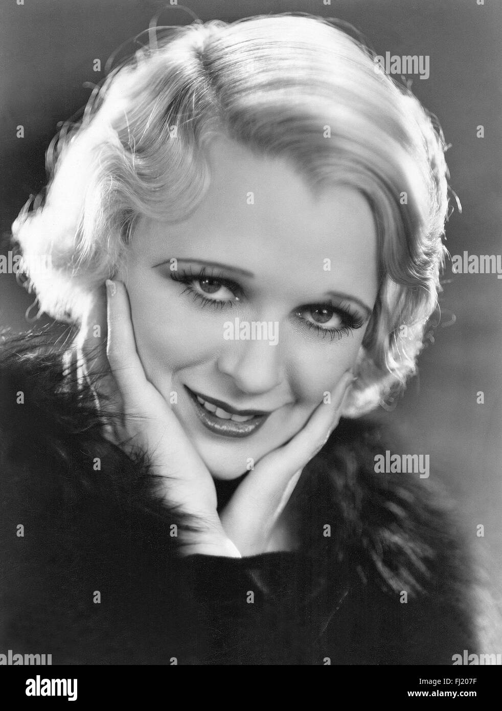 NOEL FRANCIS (1906-1959) American film actress - Stock Image