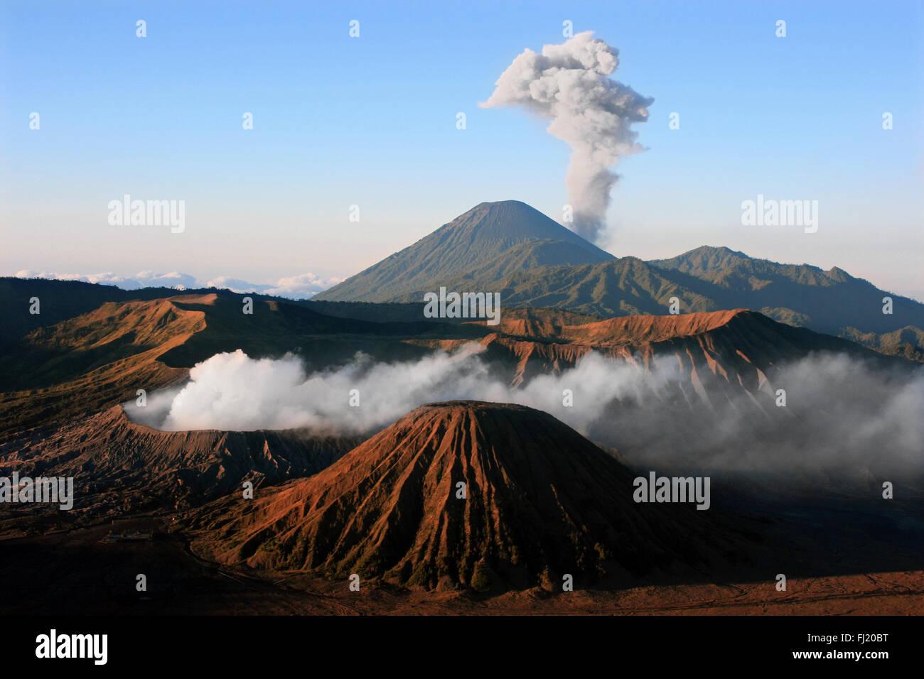 Mount Bromo , Java , Indonesia Stock Photo