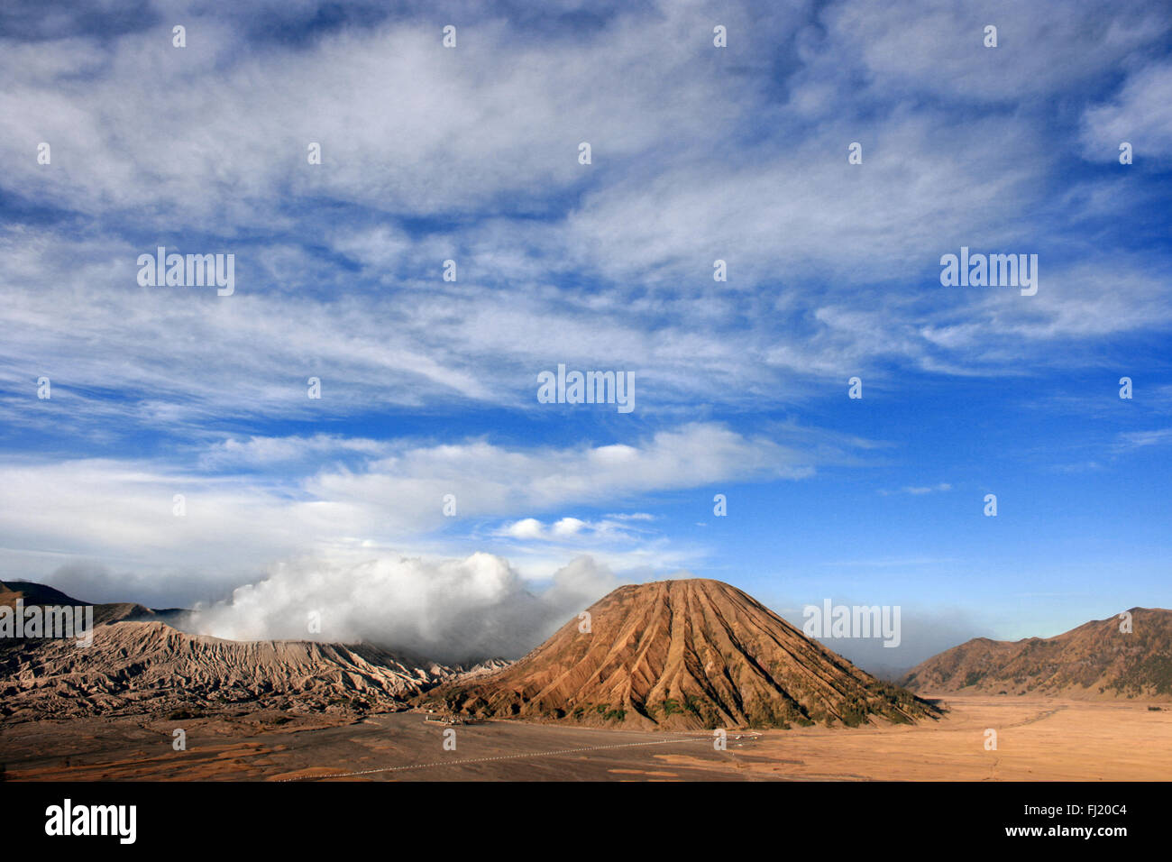 Mount Bromo , Java , Indonesia - Stock Image