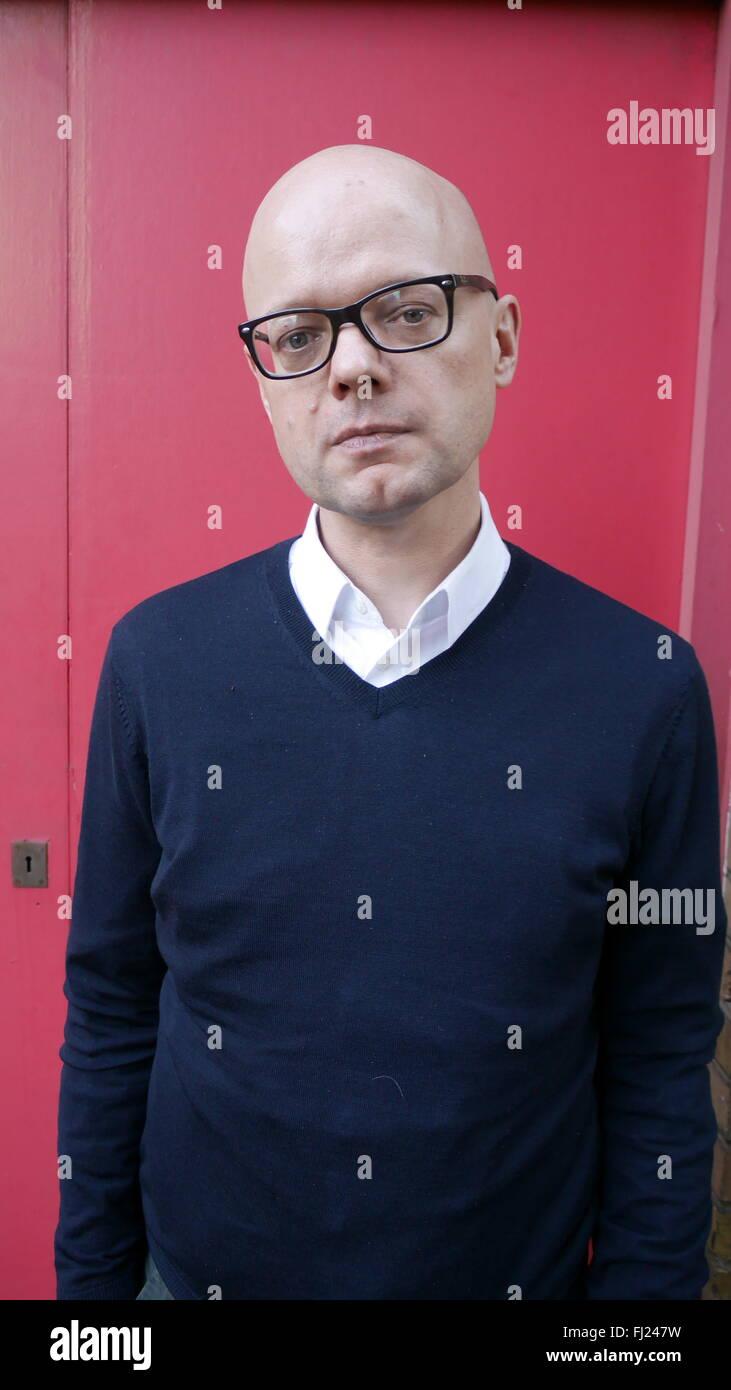 Jonathan Derbyshire Writer and Journalist - Stock Image