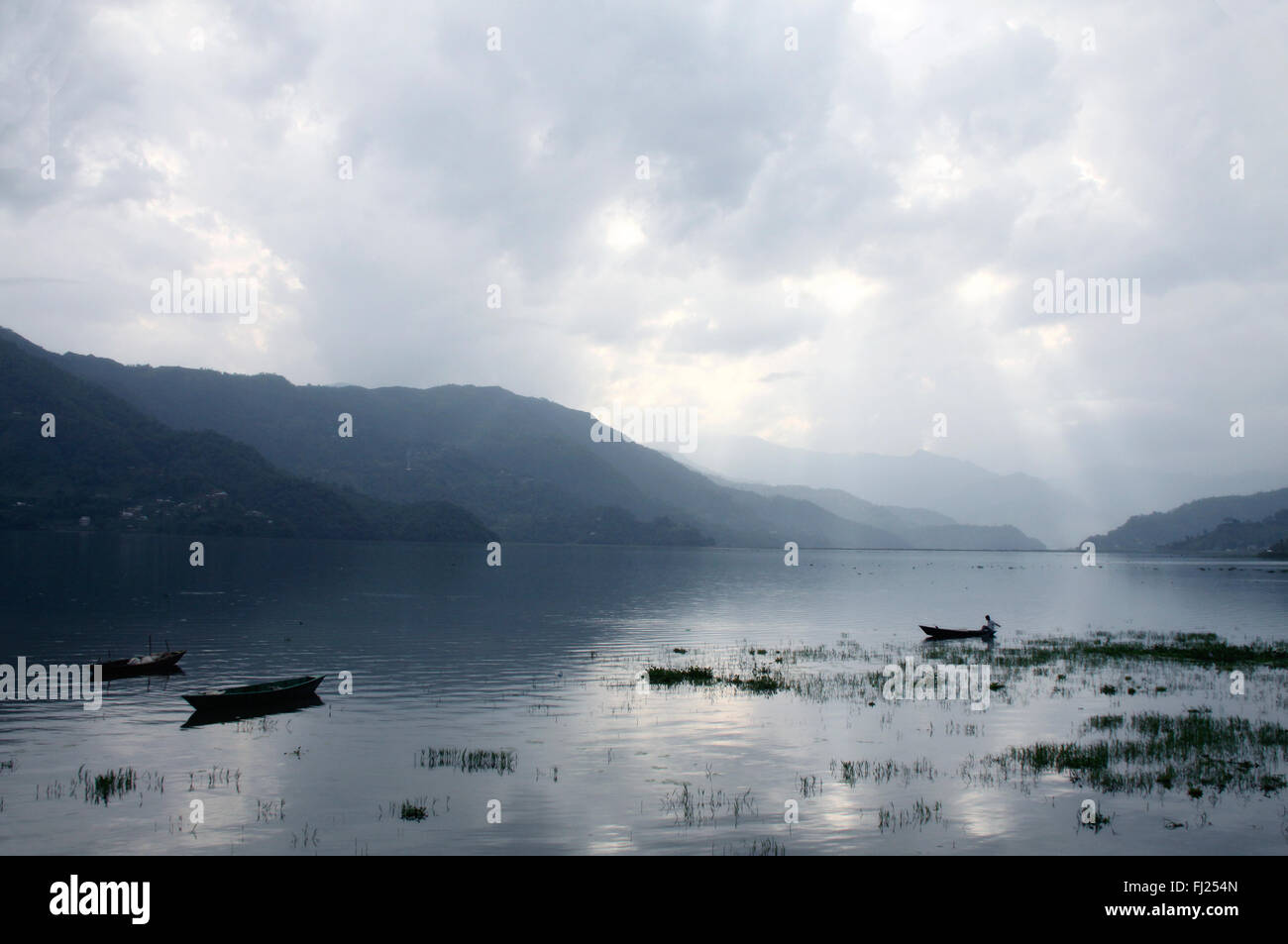 Nepal pictures of people and landscapes - Stock Image
