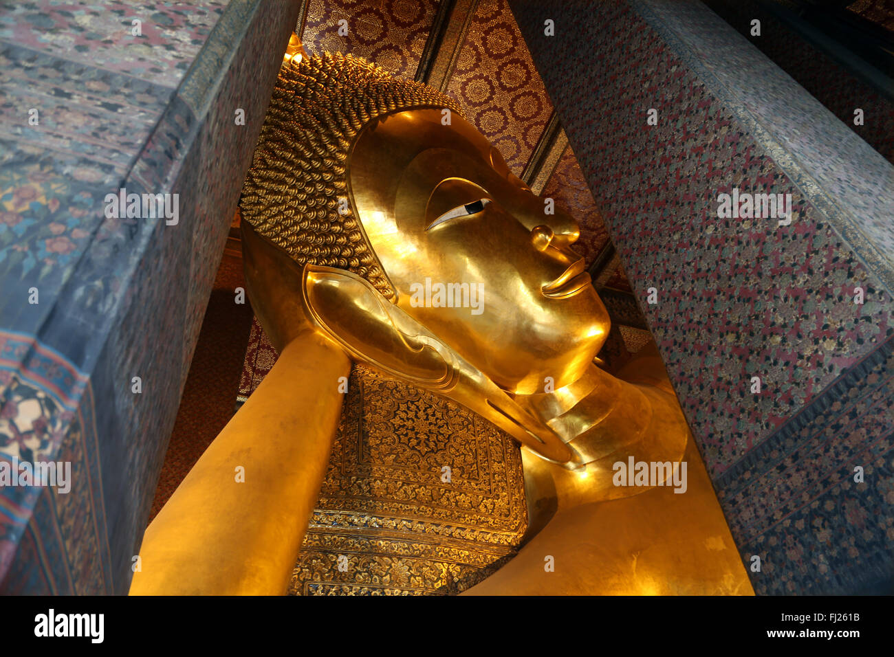 Thailand pictures of people and landscapes Bangkok - Stock Image