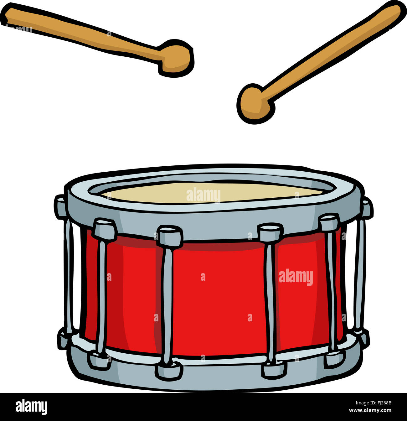 Cartoon Drum Stock Photos Cartoon Drum Stock Images Alamy