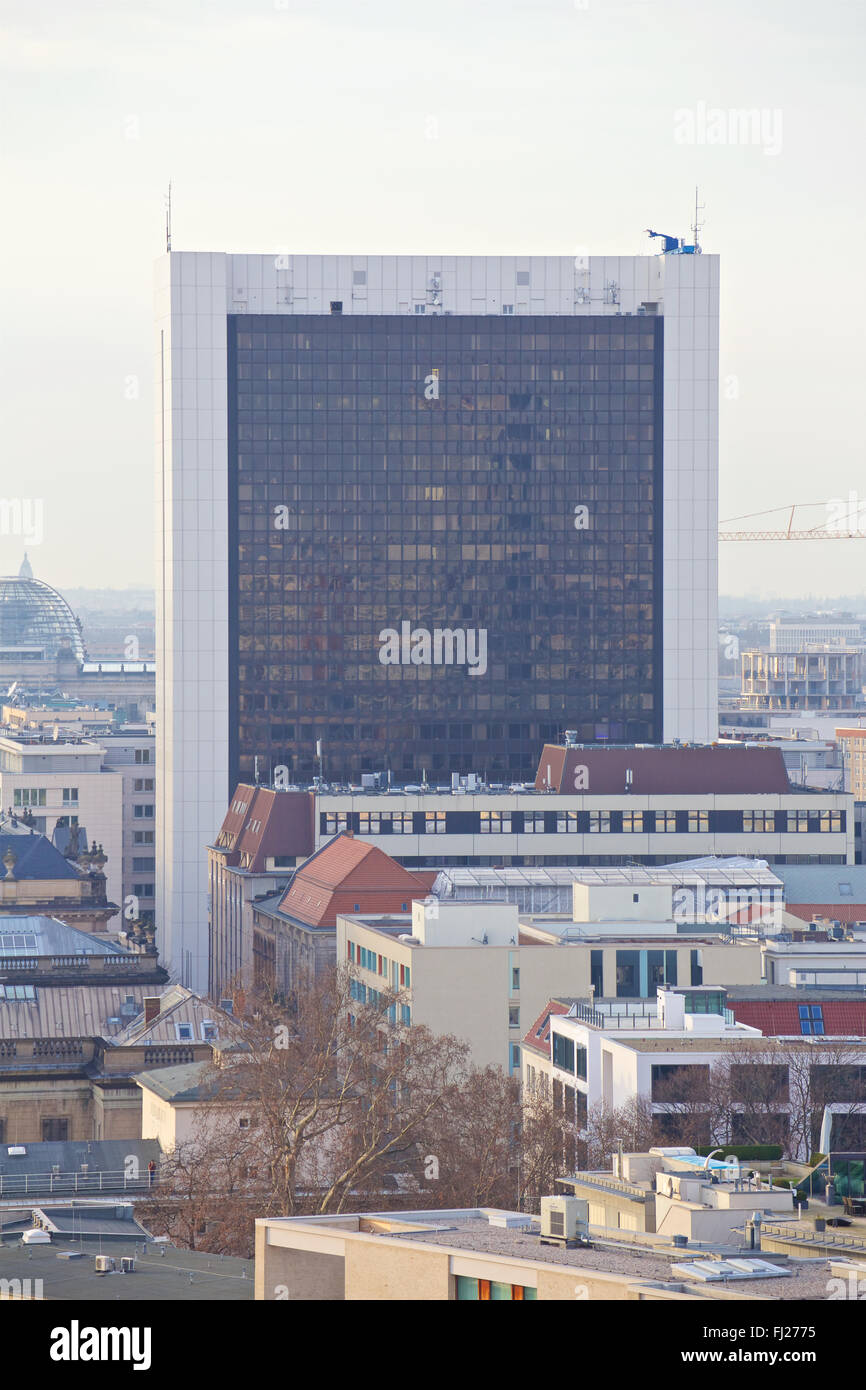 High rise office building Internationales Handelszentrum