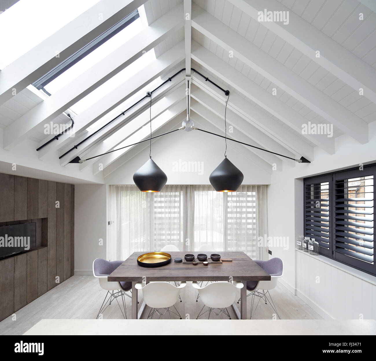 Deakins Stock Photos Images Page 3 Alamy Lighting Diagram Dining Room Orleans Road Twickenham United Kingdom Architect Burwell Architects
