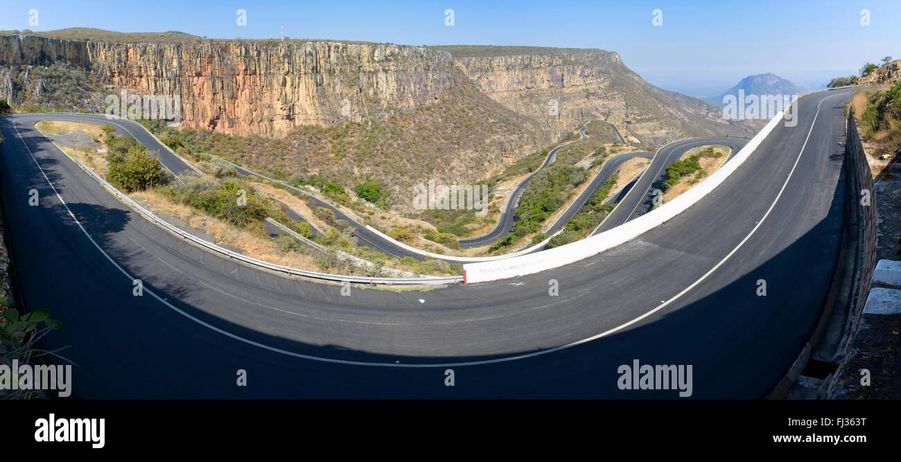 Serra Da Leba pass, Angola, Africa - Stock Image