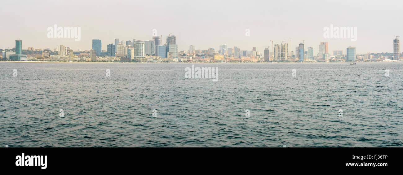 Luanda skyline, Angola, Africa - Stock Image