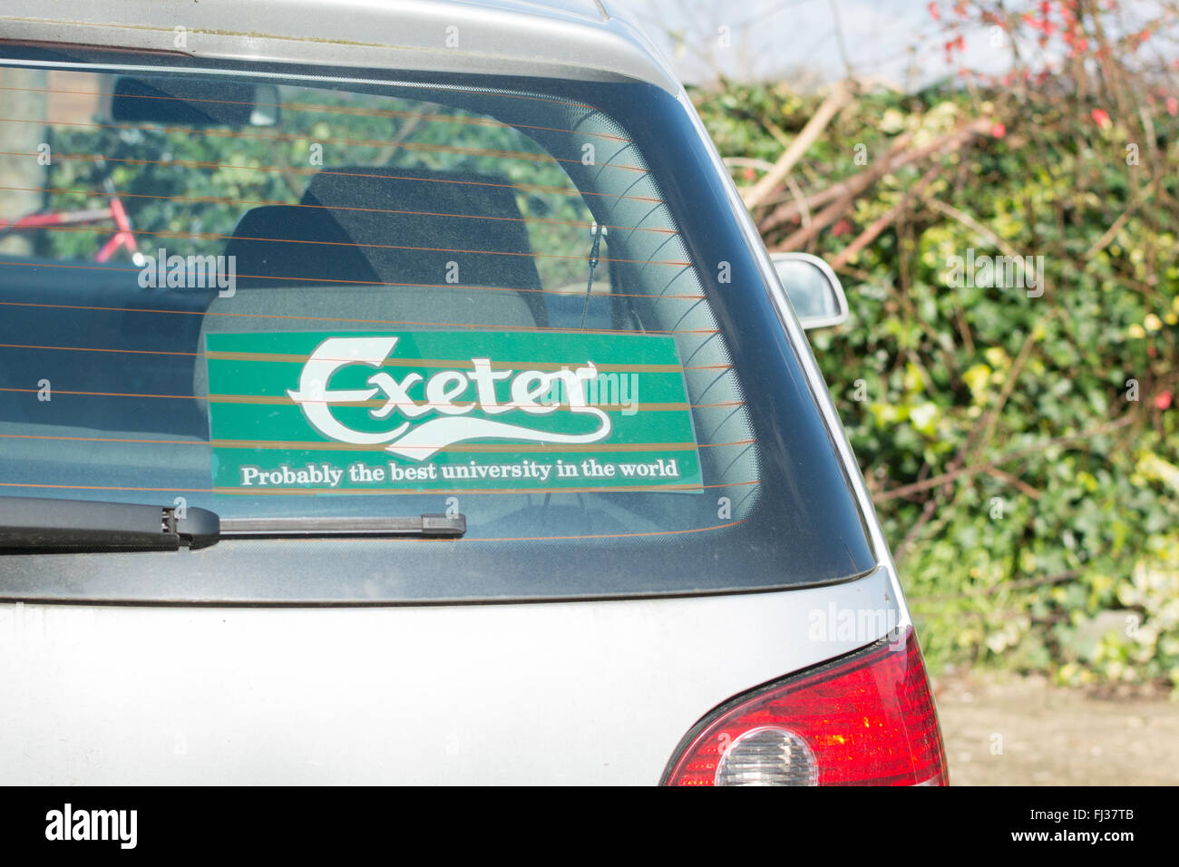 Exeter university students guild merchandise exeter probably the best university in the world sticker