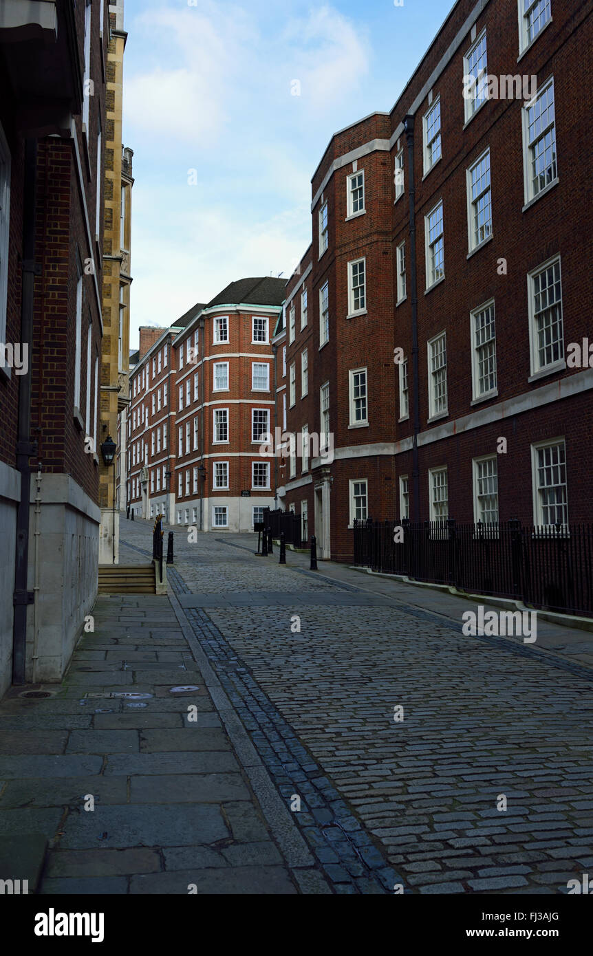 The Temple area, City of London, United Kingdom - Stock Image