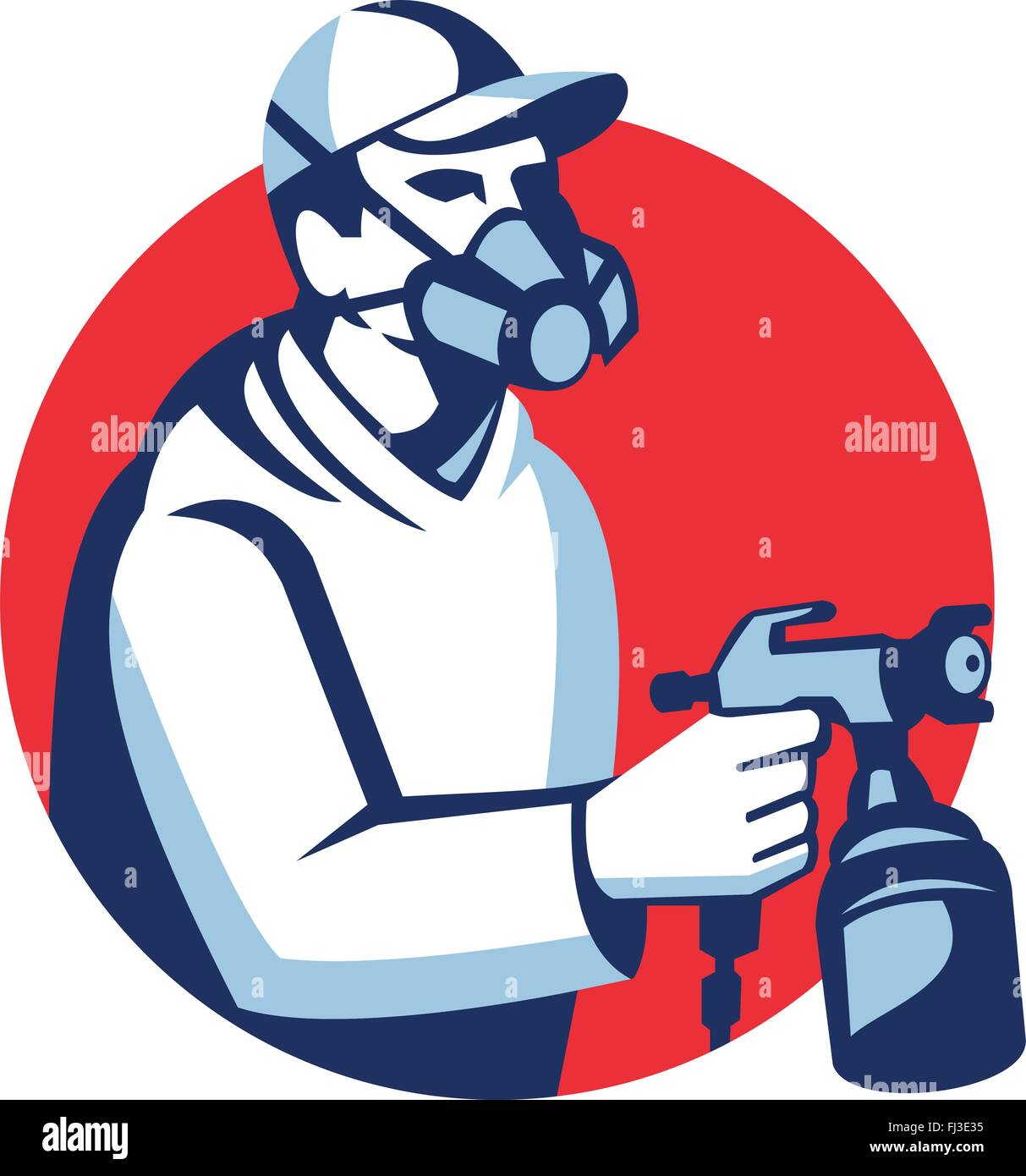 Spray Painting Car Repair