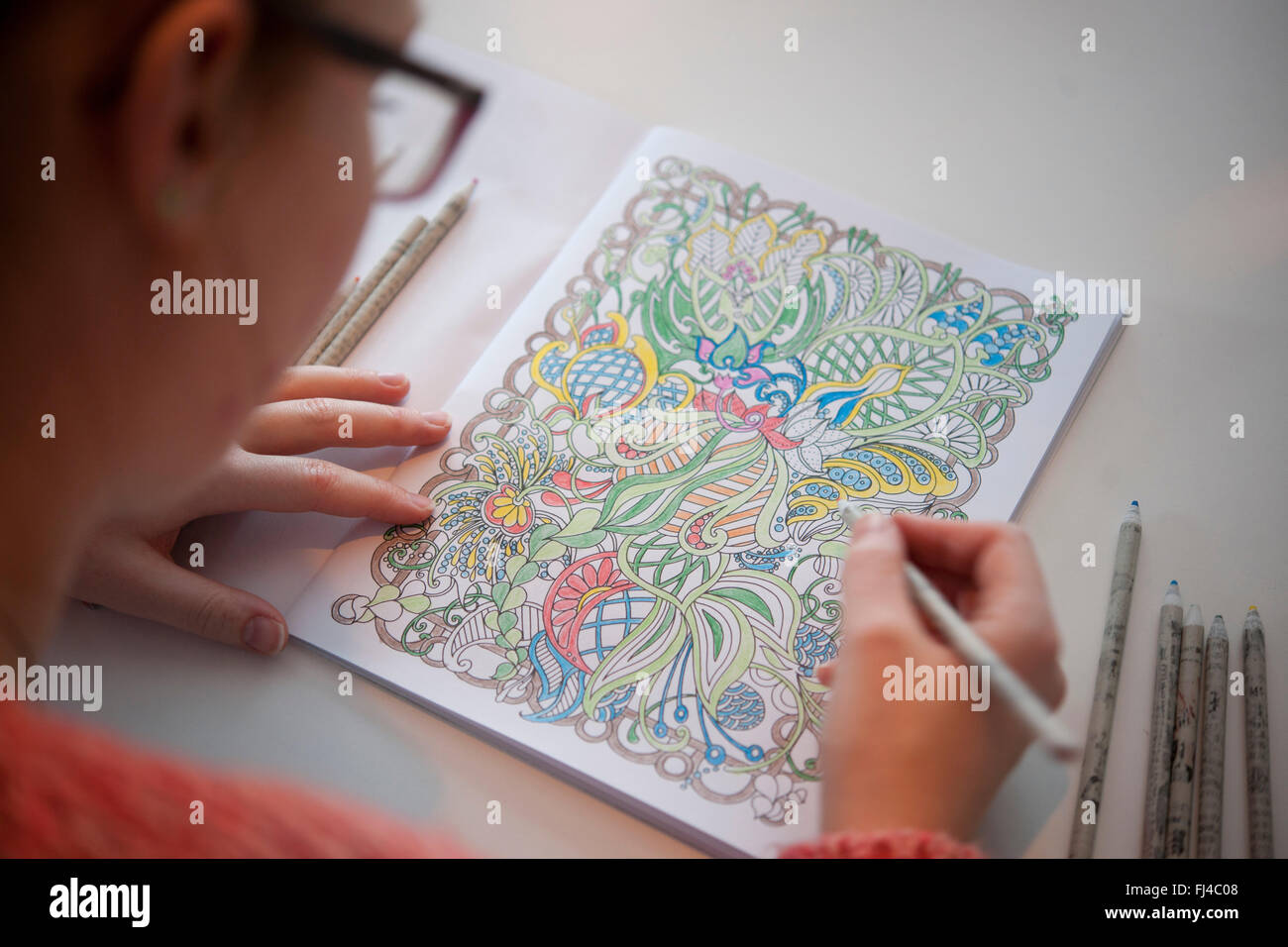 Art Therapy coloring page New Year 2016 : 2016 Fire Monkey Year 8 | 956x1300