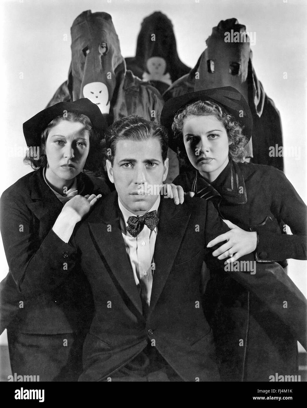 BLACK LEGION 1937 Warner Bros film with Humphrey Bogart - Stock Image