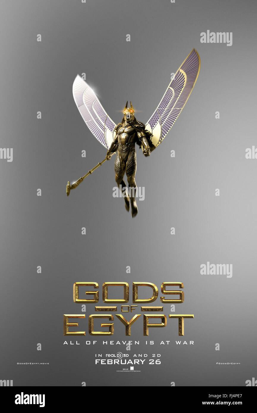 GODS OF EGYPT (2016)  ALEX PROYAS (DIR)  MOVIESTORE COLLECTION LTD - Stock Image