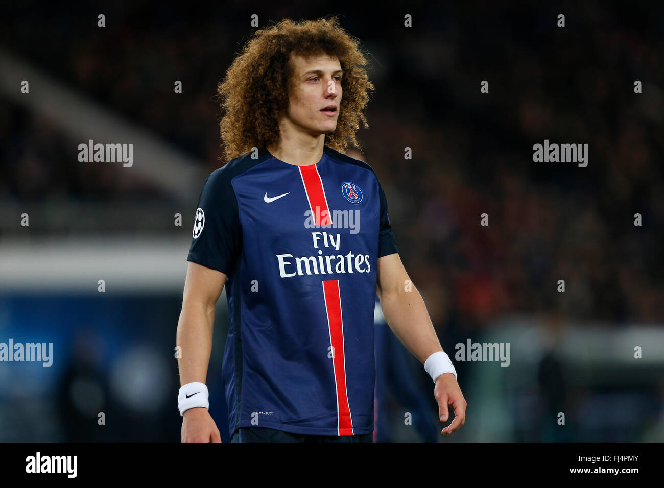 save off 32386 bb797 David Luiz of PSG seen during the UEFA Champions League ...
