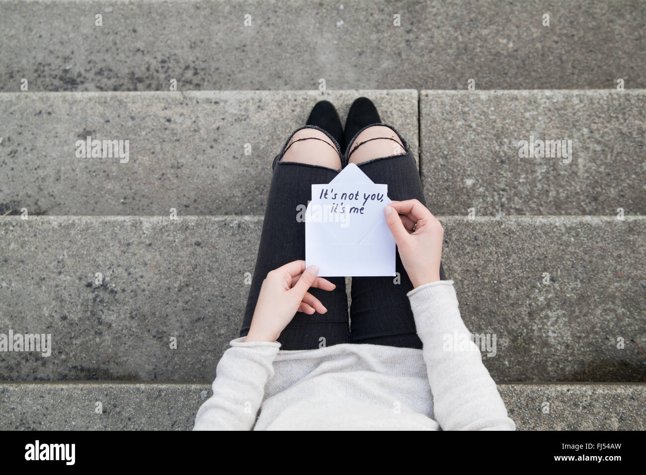 Break up - Stock Image