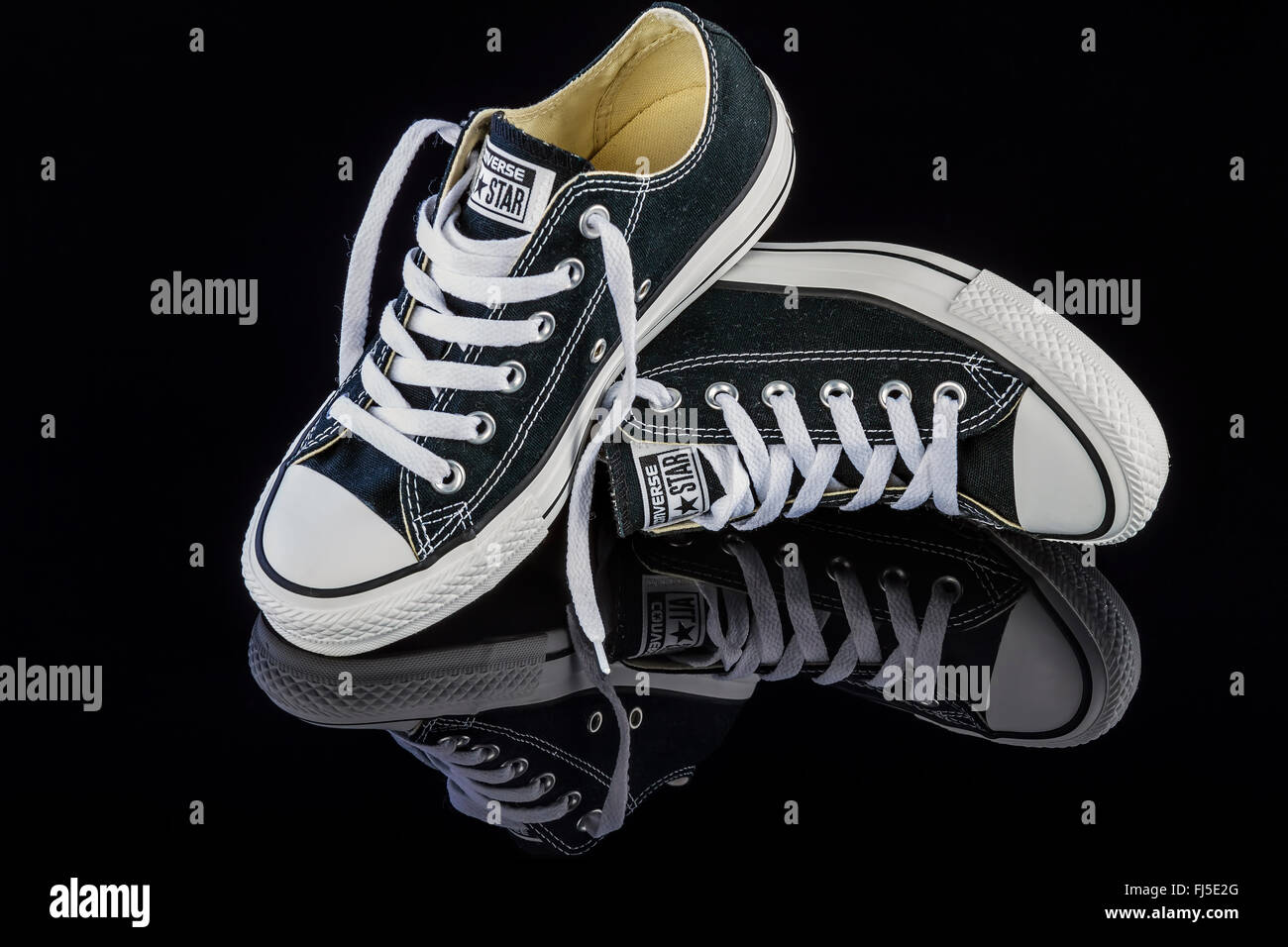 63dc33bb4e5c Converse Shoes Stock Photos   Converse Shoes Stock Images - Alamy