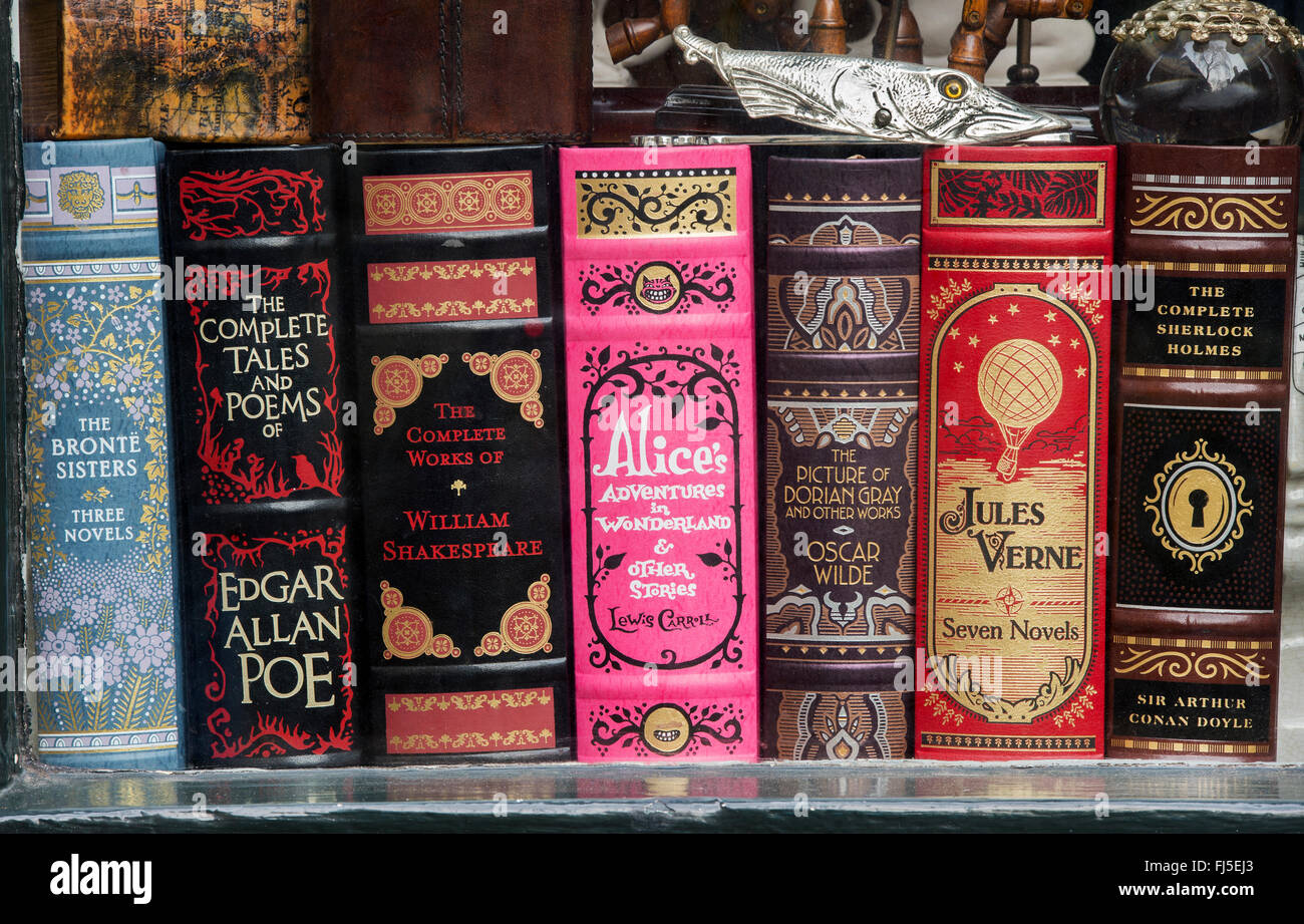 Popular Classic English Literature Books In Scriptum Shop Window