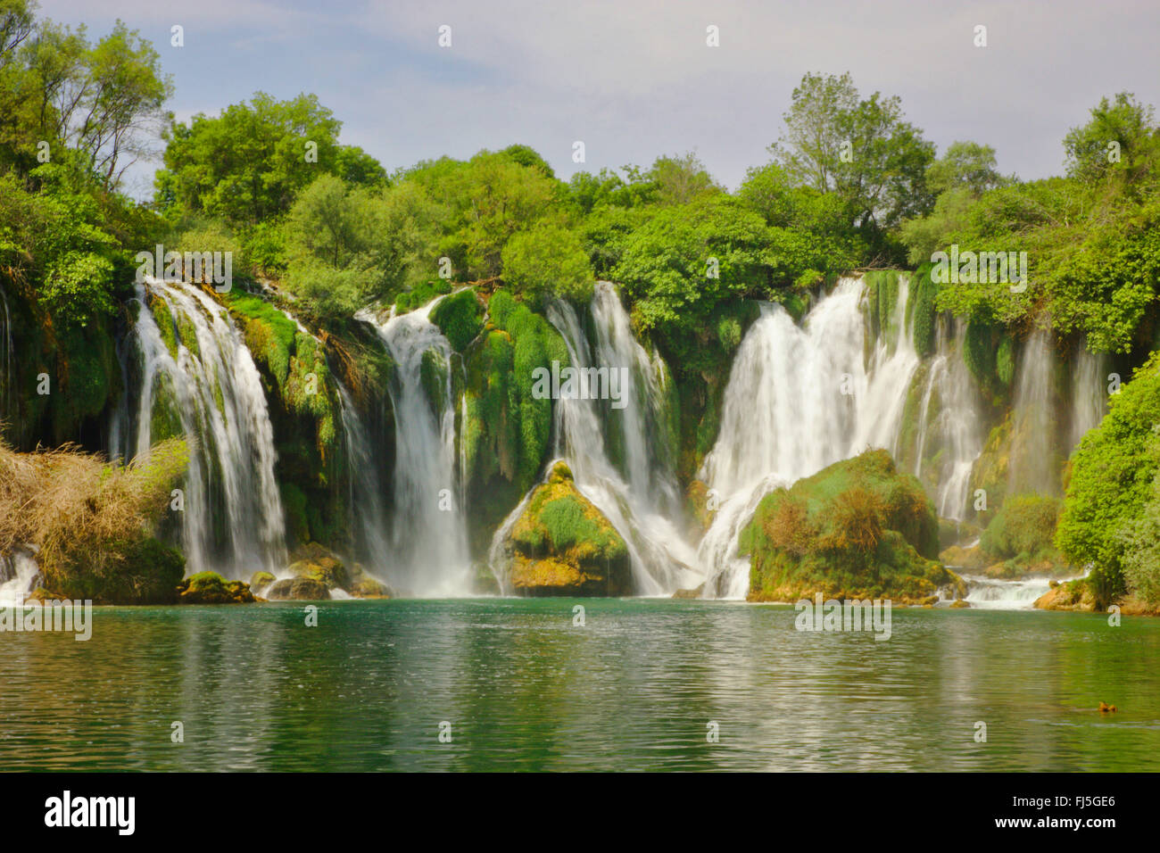 Kravice waterfalls, Bosnia and Herzegovina, Ljubuski - Stock Image