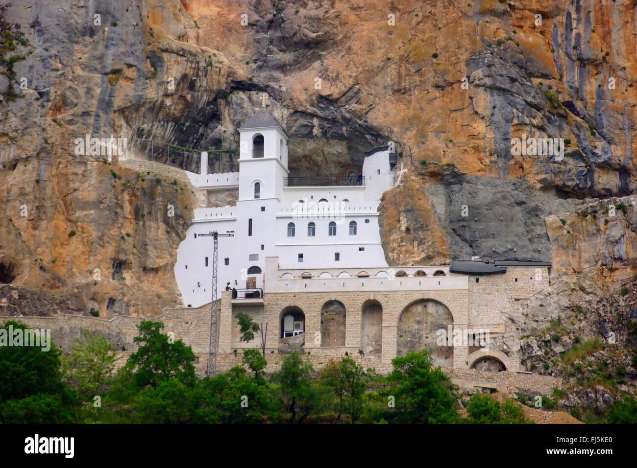Ostrog monastery, Montenegro - Stock Image