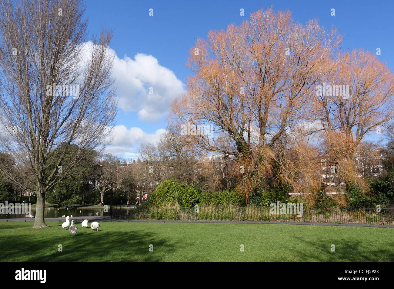 St. Stephen's Green Dublin Ireland -1 - Stock Image