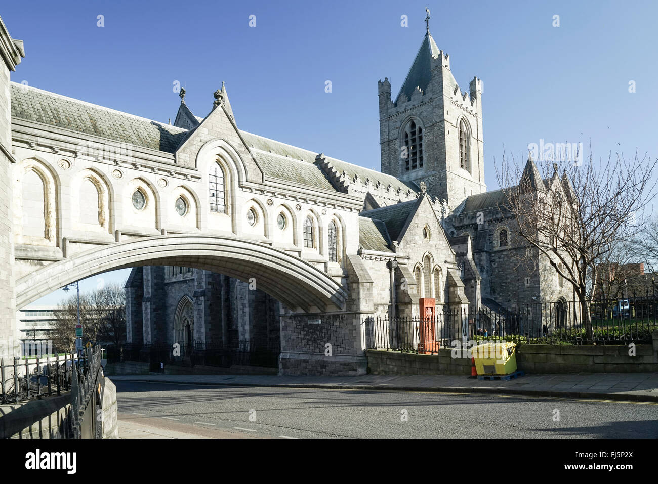 Christ Church Cathedral's Dublin Ireland -1 - Stock Image