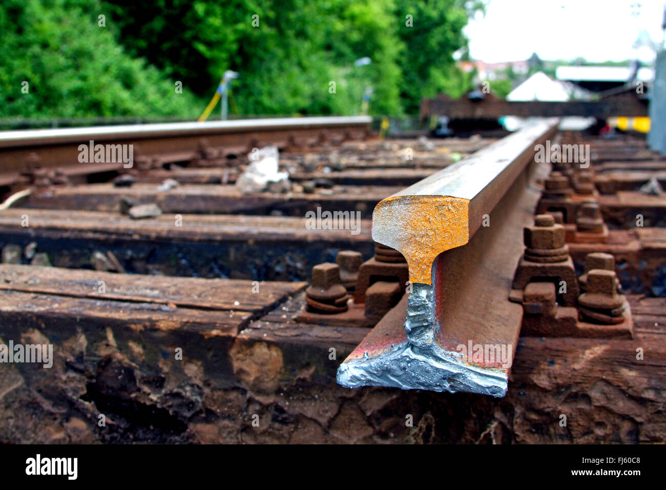 Railroad Track Stock Photos & Railroad Track Stock Images