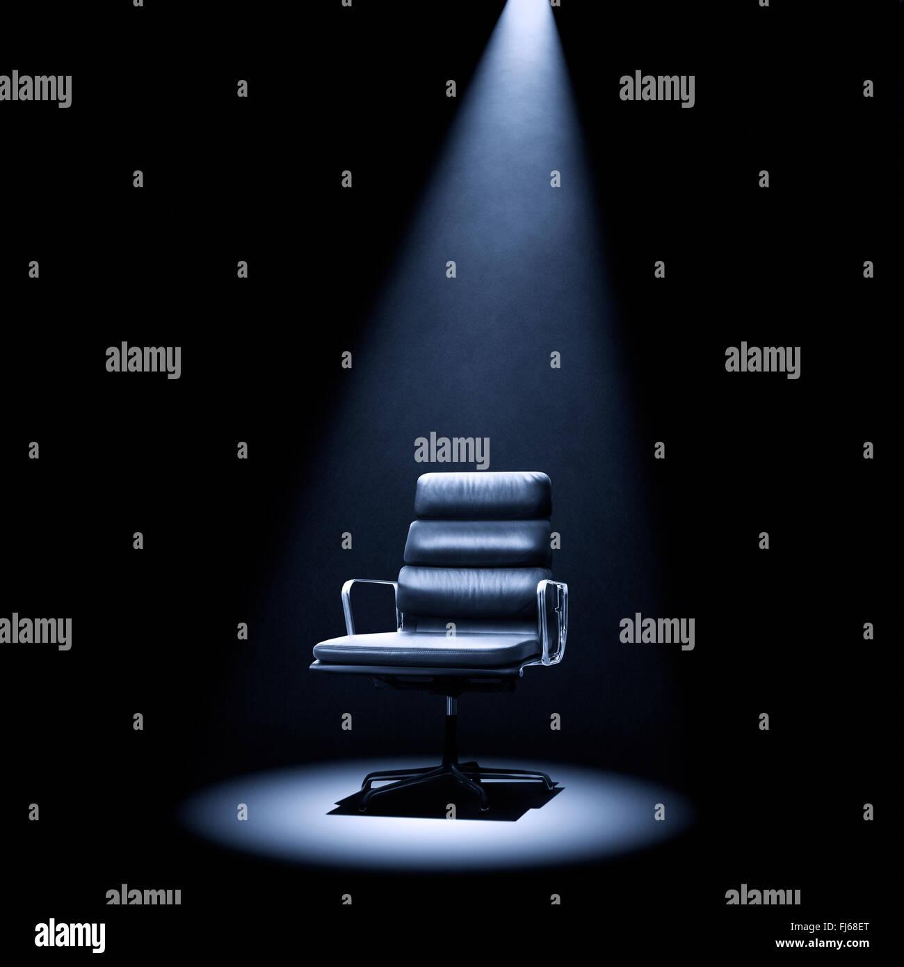 Mastermind Style Eames 219 Chair Under Spotlight.