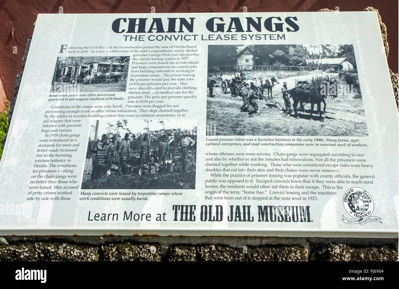 old chain and newspaper