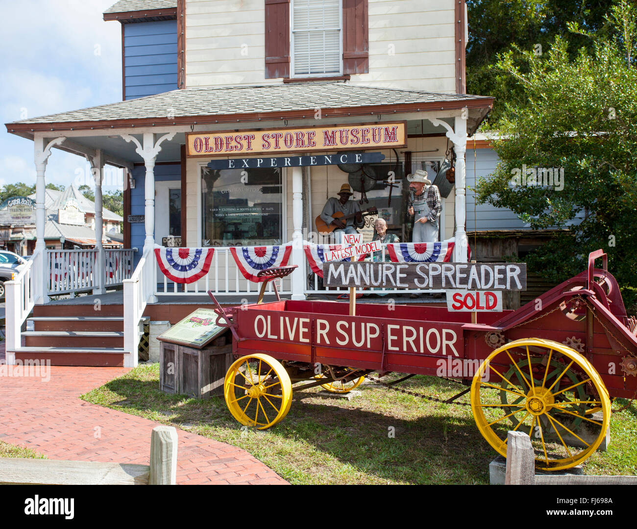 The Oldest Store Museum, a Historic General Store in St. Augustine, St. Johns County; Florida; USA; - Stock Image