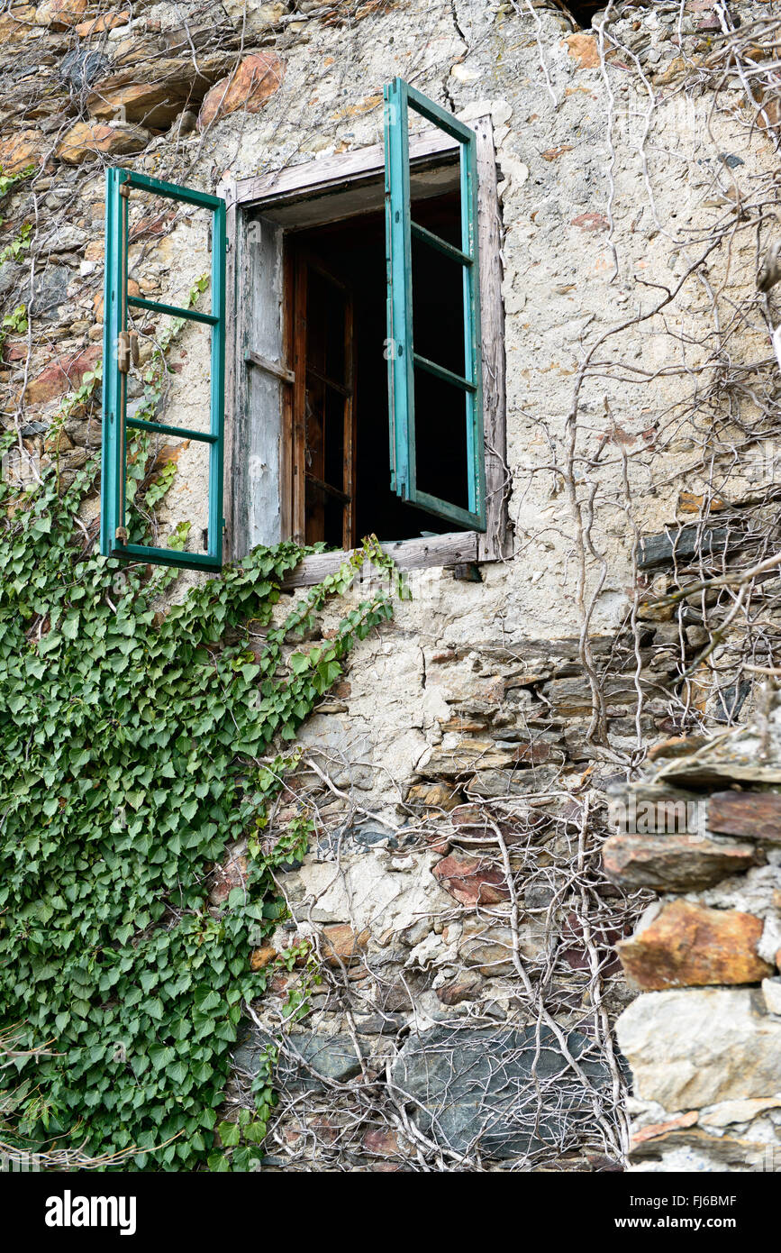 Altes Fenster   ancient window - Stock Image