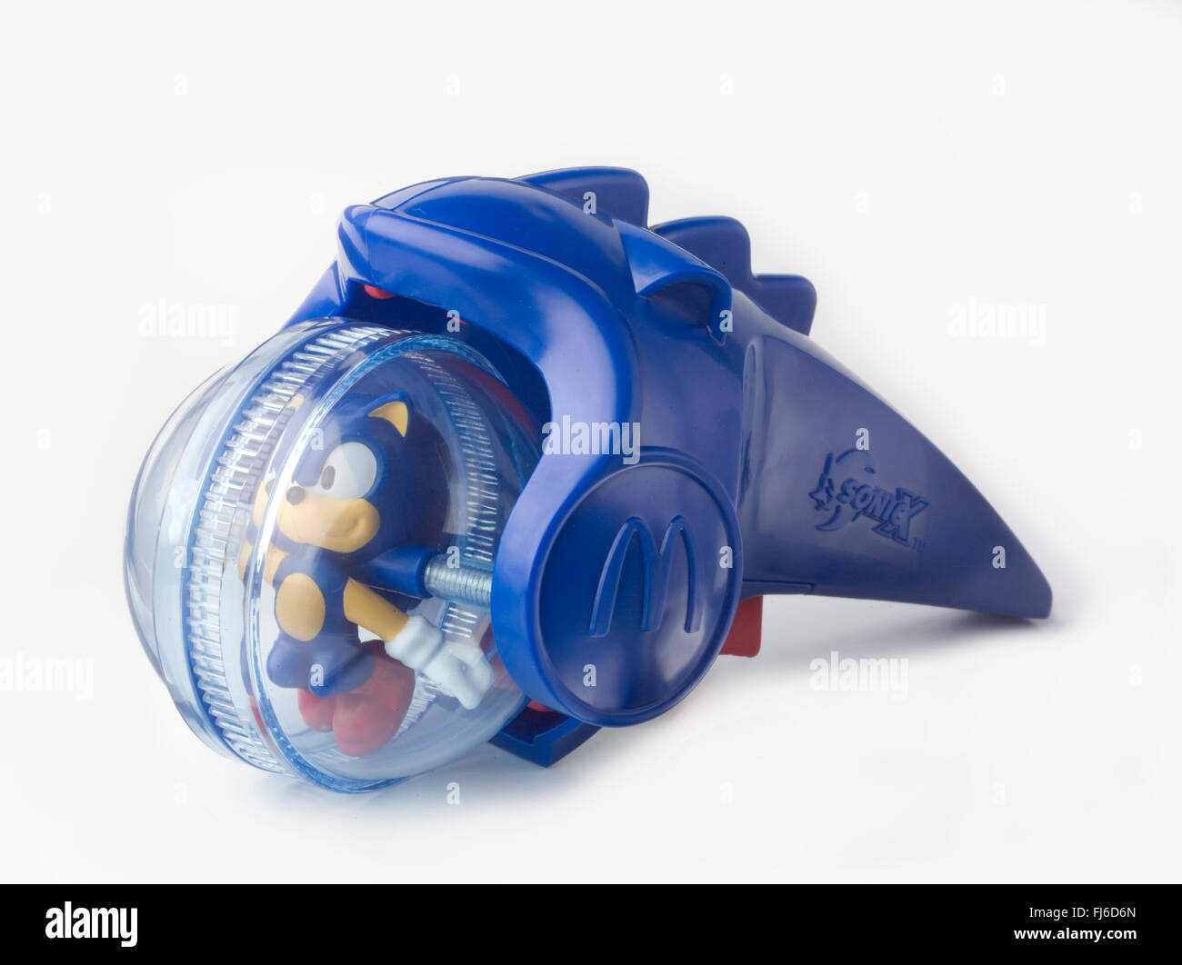 Sonic The Hedgehog Happy Meal Toy Stock Photo Alamy