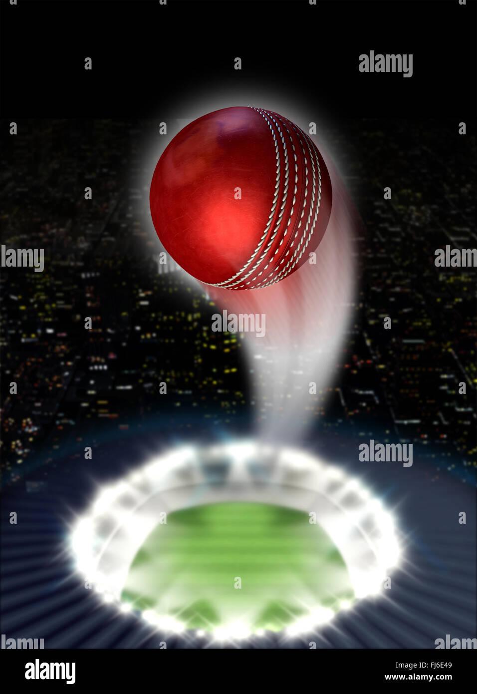 cricket stadium red leather cricket stock photos  u0026 cricket stadium red leather cricket stock