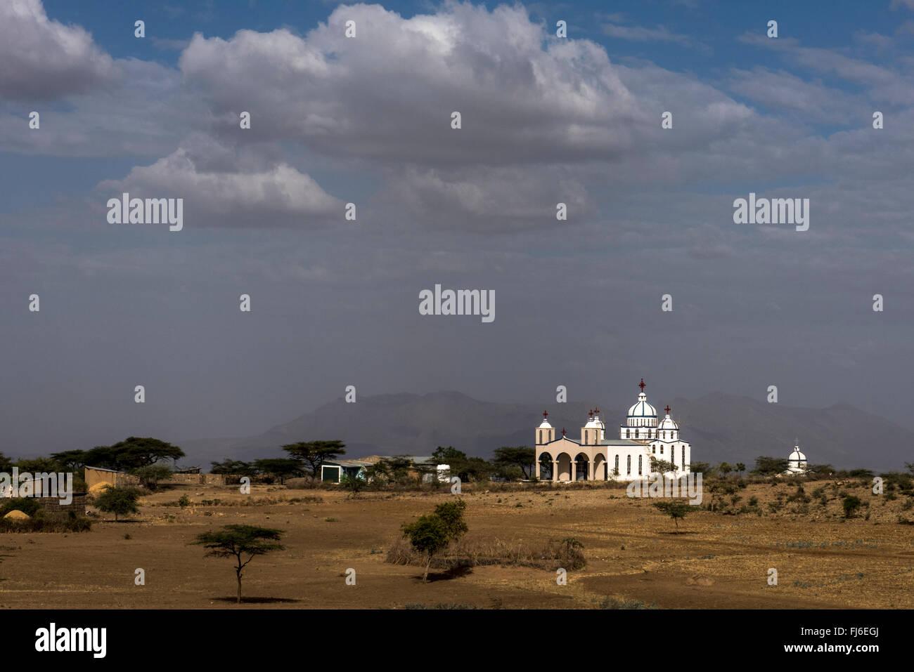 Orthodox Church, Ethiopia, Africa - Stock Image