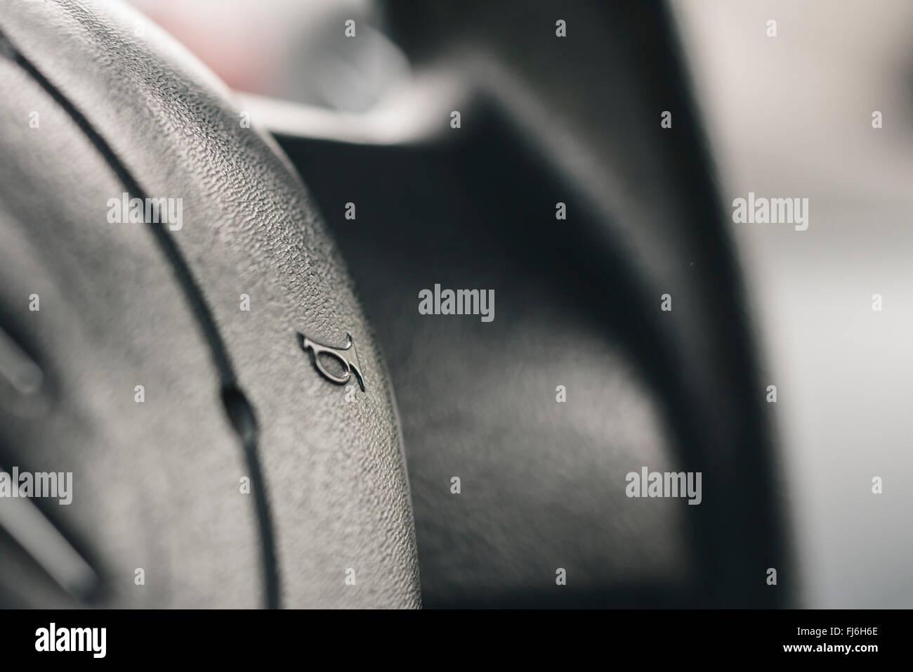 Car horn symbol - Stock Image