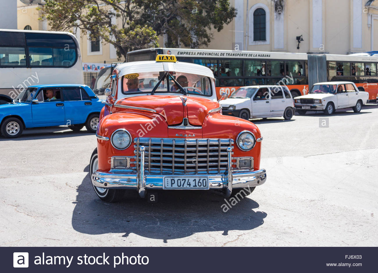 Old vintage classic cars in working condition. Cuba is known for the ...