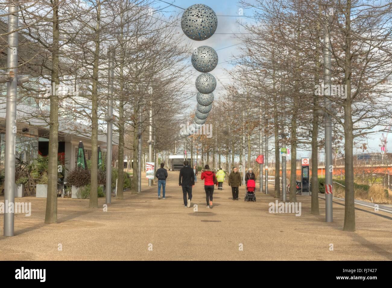 Olympic Park, London,  regeneration - Stock Image