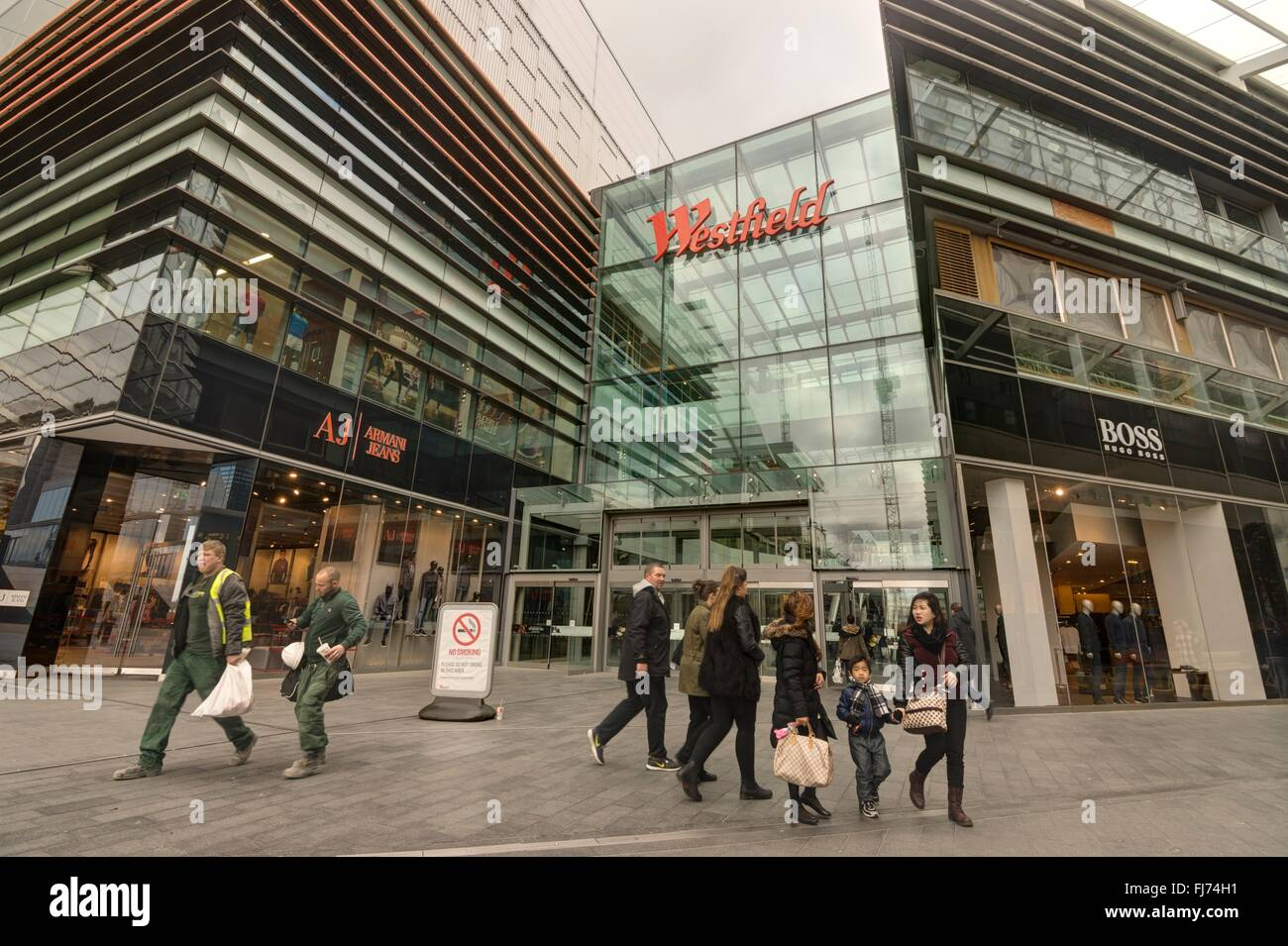 Westfield Shopping Centre, Stratford. Stock Photo