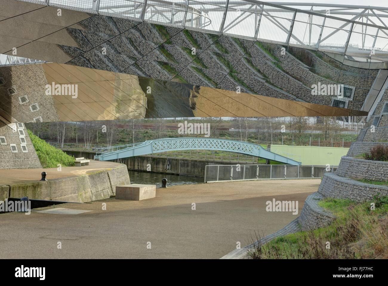Olympic Park,  London   regeneration East London - Stock Image